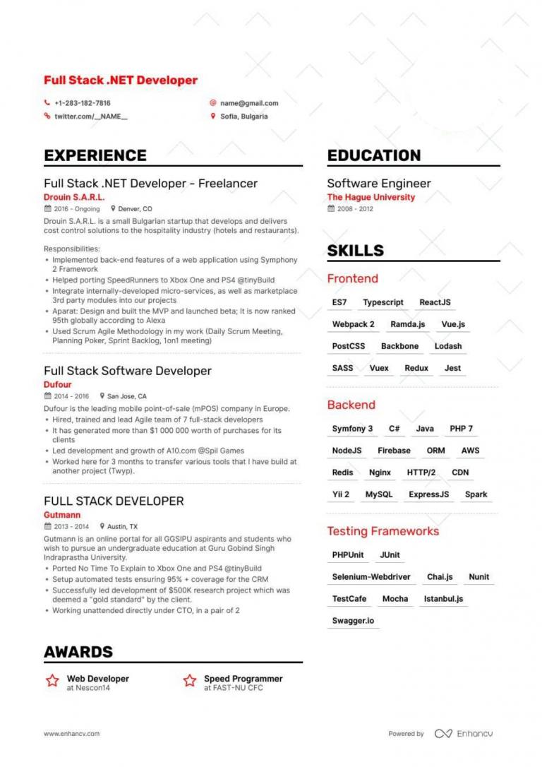 10 professional react js java resume samples  react resumes