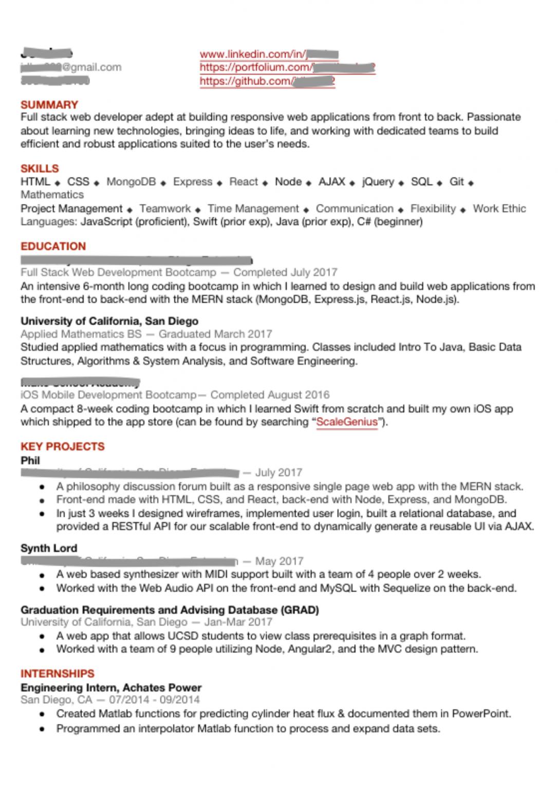10 junior reactjs developer resume samples  react resumes