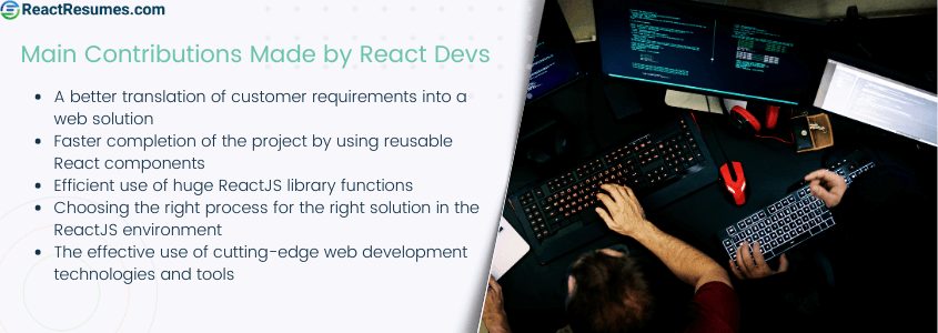 why use react.js development services